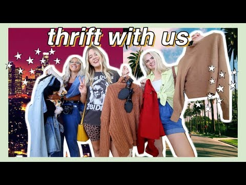 come thrifting with me as an LA RESIDENT!