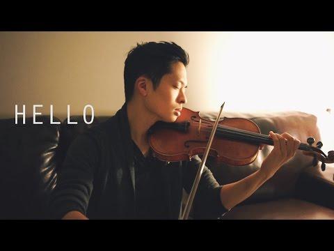 Hello - Adele - Violin Cover - Daniel Jang