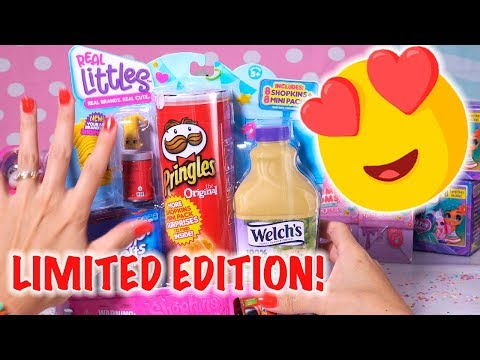 Shopkins Real Littles Unboxing - Limited Edition Inside!!
