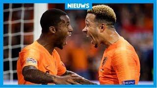 Oranje wint met 3-0 van Duitsland!