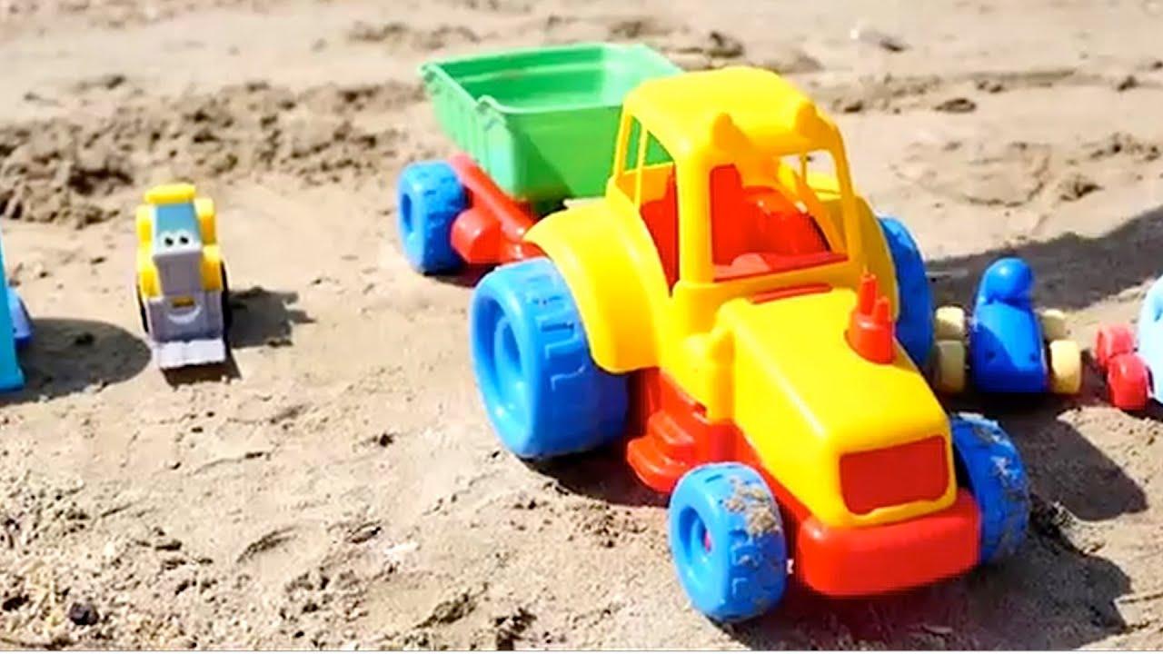 Carros carritos para ni os tractores infantiles youtube - Para ninos infantiles ...
