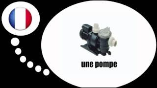 урок французского языка = Открытый бассейн