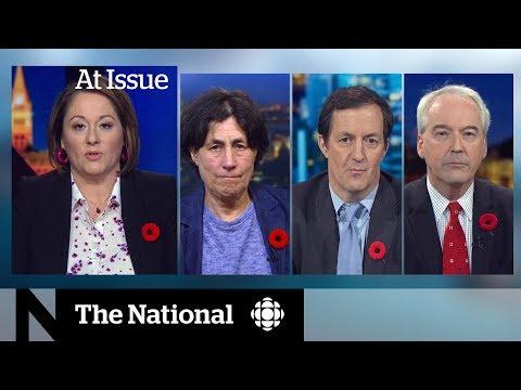 David Johnston's debate