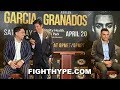 """(LOL!) DANNY GARCIA & ADRIAN GRANADOS BANTER, DEBATE WHO'S THE """"LAWNMOWER"""" AND WHO'S THE """"GRASS"""""""