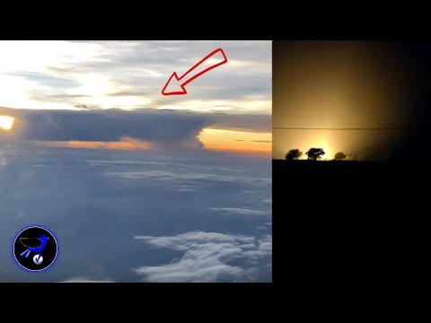 Giant Mothership hiding in the clouds over China! Dec 11,2018