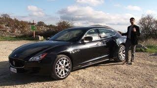 Nuova Maserati Quattroporte, la nostra prova su strada (English subtitled)