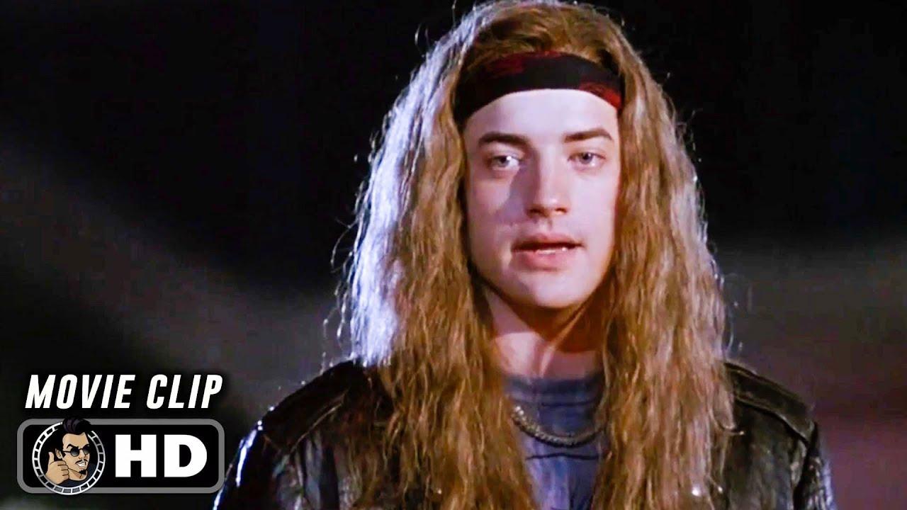 """AIRHEADS Clip - """"Nerd"""" (1994) Brendan Fraser"""