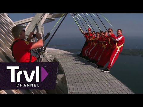 Experience Toronto's Sky-High Edgewalk - Travel Channel