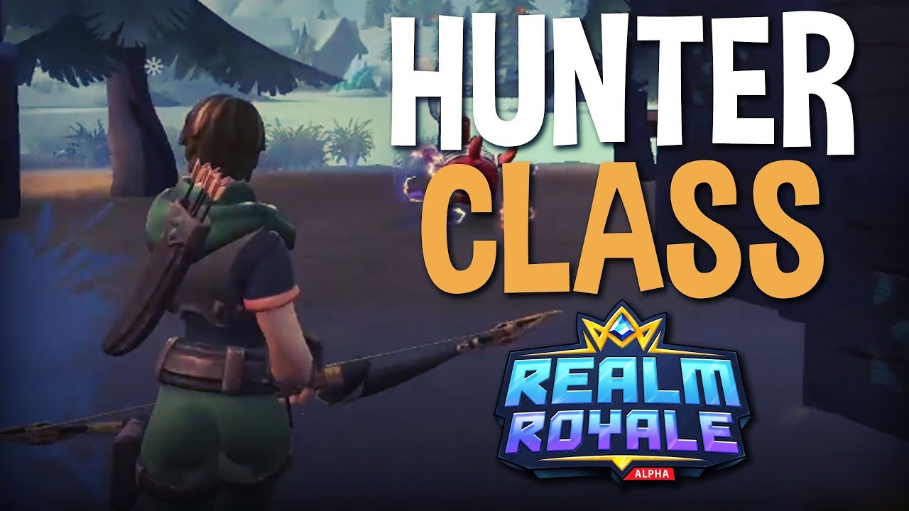 Trying Out The Hunter Class - Realm Royale Gameplay - Ninja & Summit