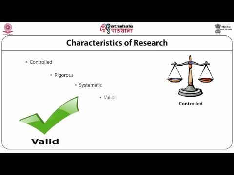 Meaning and objectives of Research (ANT)