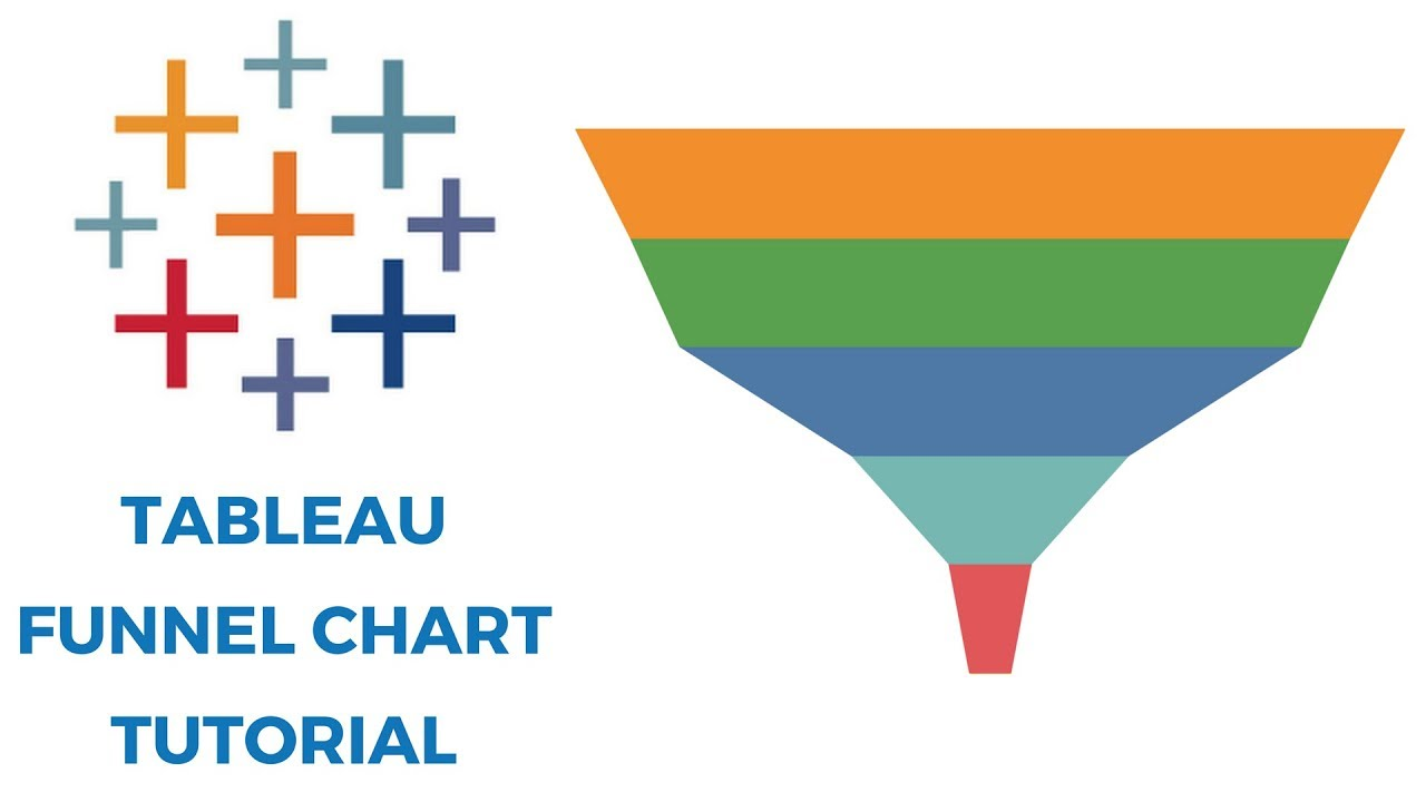 hight resolution of tableau funnel chart tutorial