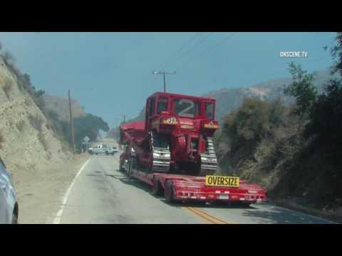 Santa Clarita Brush Fire Part 1