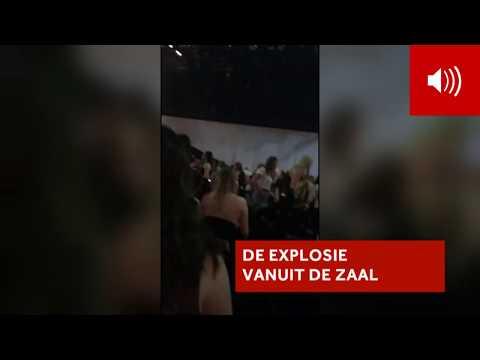 MANCHESTER: Eerste beelden aanslag concert Ariana Grande