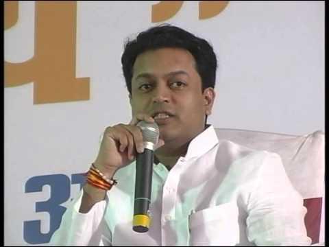 Amit Deshmukh speaking about his father Shri Vilasrao Deshmukh