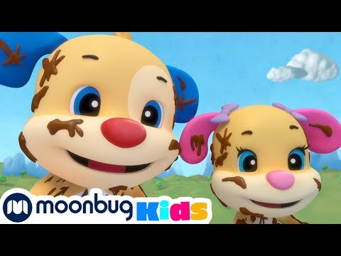 Laugh And Learn With Fisher Price - Washing The Car! | Educational Cartoons For Kids | Moonbug