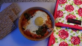 Healthy Mexican Inspired Baked Eggs Recipe