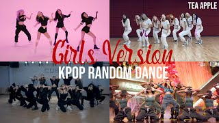 [MIRRORED] KPOP RANDOM DANCE GIRLS VERSION | TEA APPLE