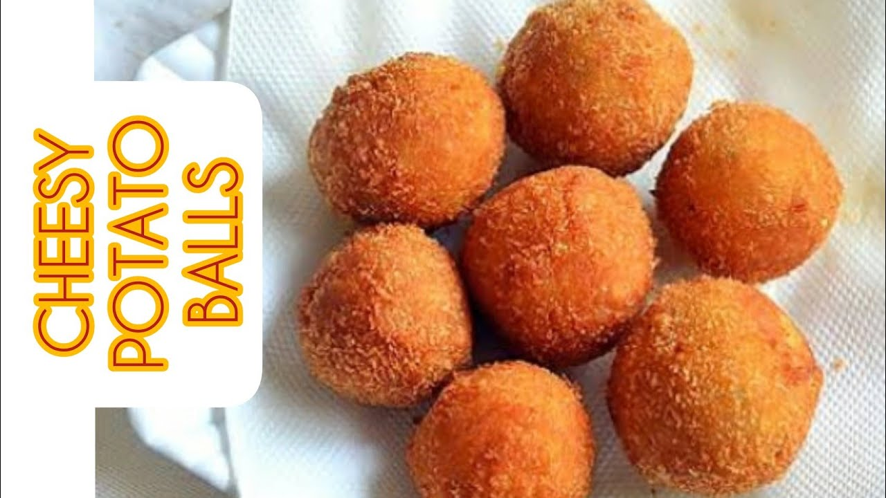 Potato Cheese Balls Recipe || How to make fried potato balls at home || Simple and easy recipe