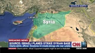 Israeli airstrikes target Syria military bases Thumbnail