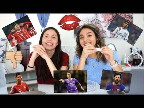 KISS, MARRY, KILL Ft Cristiano Ronaldo, Messi, Asensio & James Rodriguez