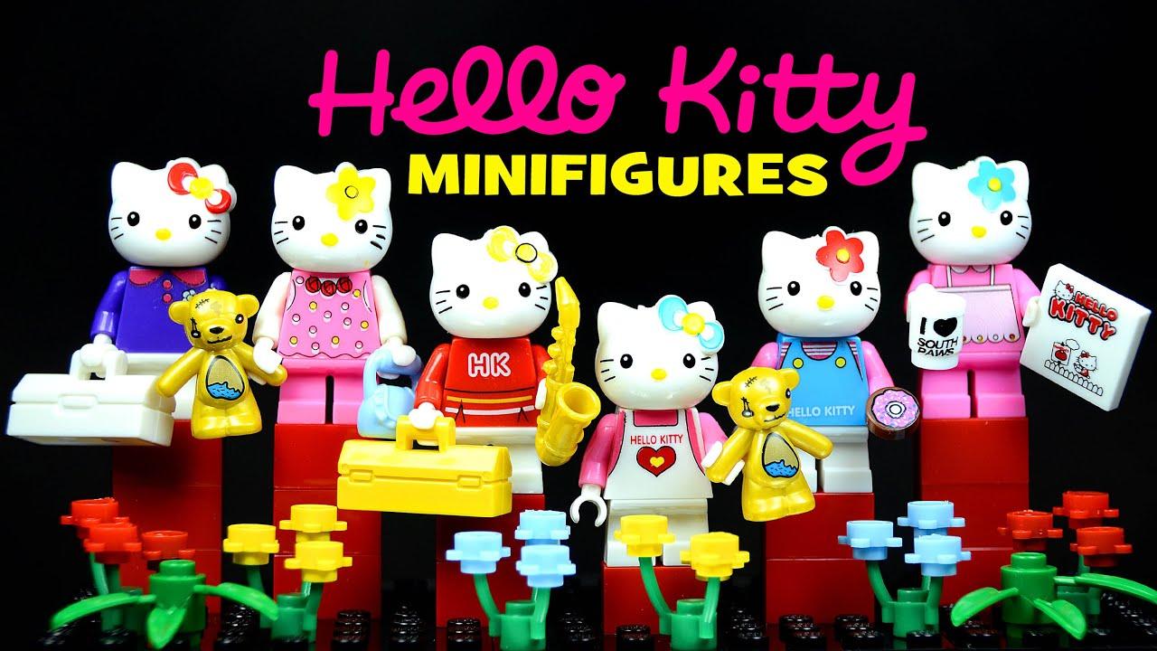 Lego hello kitty 39 s furry tale knockoff minifigures set 1 - Lego hello kitty maison ...