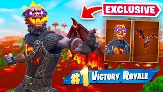 Epic Gave Me *UNRELEASED* Skin + Floor Is Llava Gameplay!