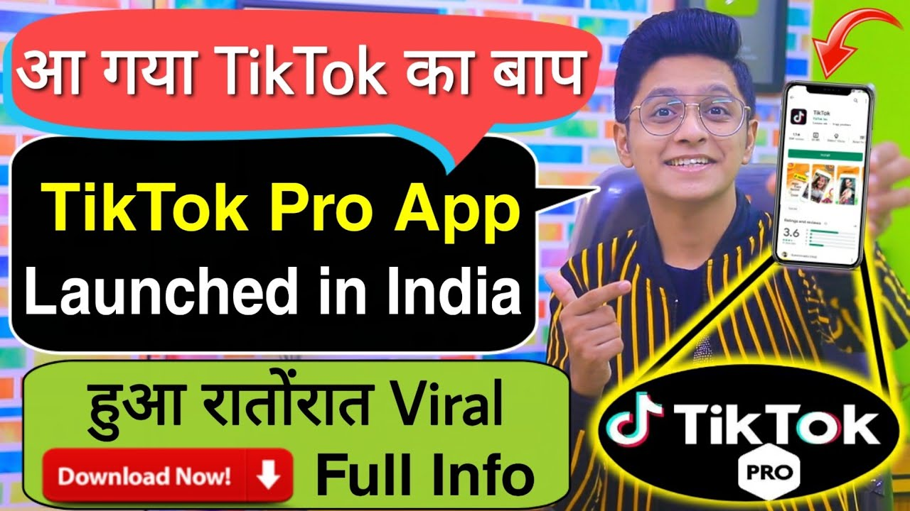 Baap Of TikTok | TikTok PRO app Launched In INDIA | Full Info | Earn Real Money By Indian App