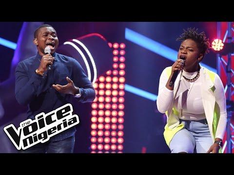 Brenda vs David sing 'Try Sleeping With A Broken Heart' / The Battles / The Voice Nigeria 2016