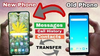 how to transfer contacts, messages, call history old phone to new phone screenshot 2