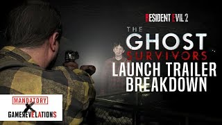 Resident Evil 2: Ghost Survivors Launch Trailer Breakdown | GameRevelations