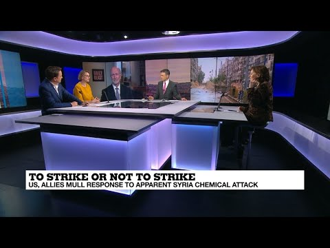 Syria strikes, MBS in Paris, Zuckerberg on Capitol Hill, Hungary and Europe