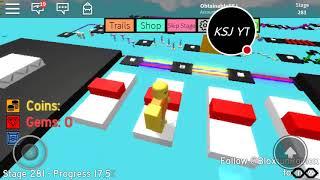 Roblox Mega fun obby pt3 road to 300