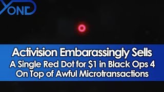 Activision Embarassingly Sells a Single Red Dot for $1 On Top of Awful Microtransactions