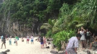 Тайланд Пхукет остров Пхи пхи где проходили съёмки фильма Пляж, невероятная красота завораживает