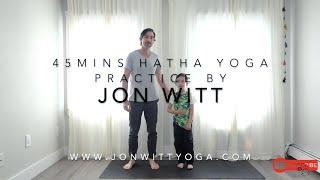 45 mins Hatha yoga practice by Jon Witt