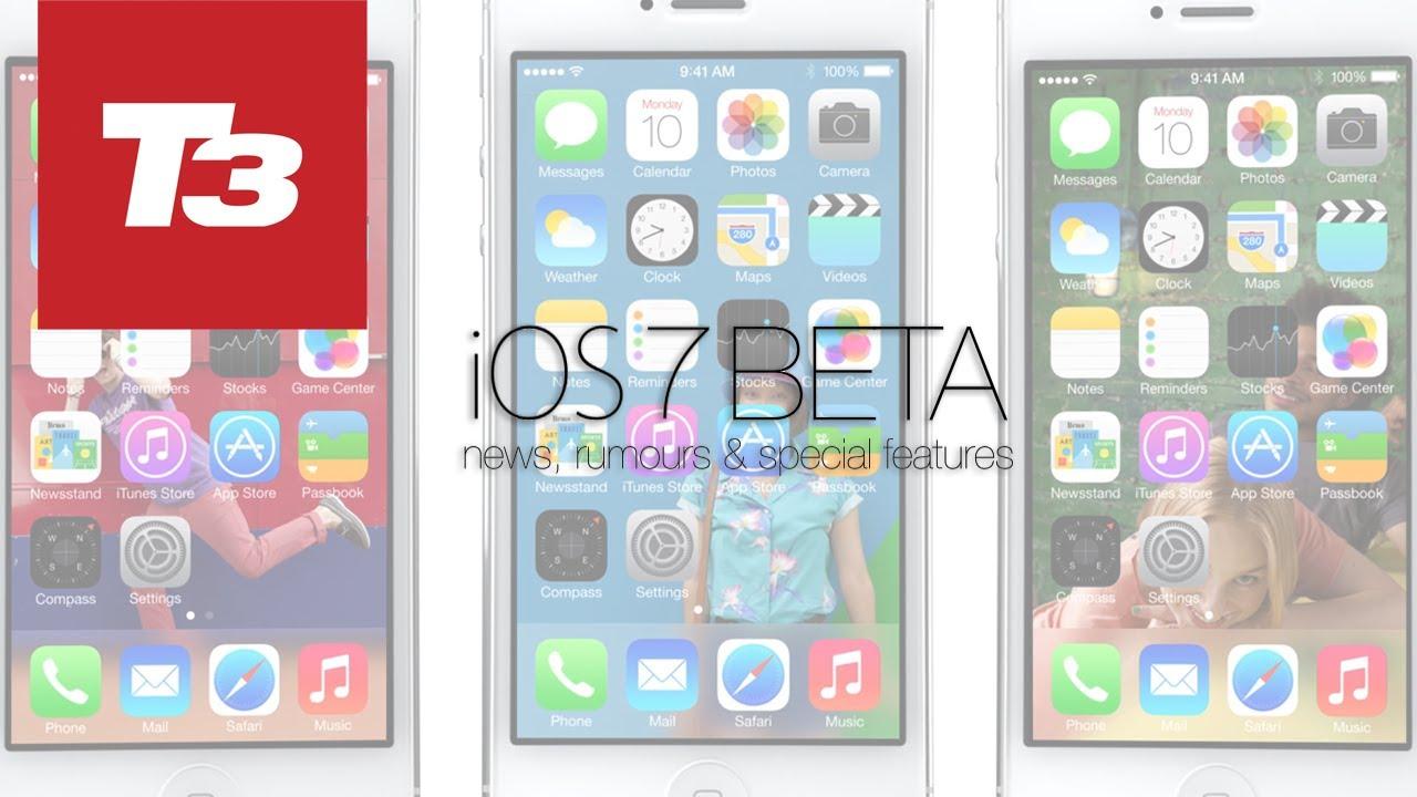 iOS 7 Beta News, Rumours & Secret Features