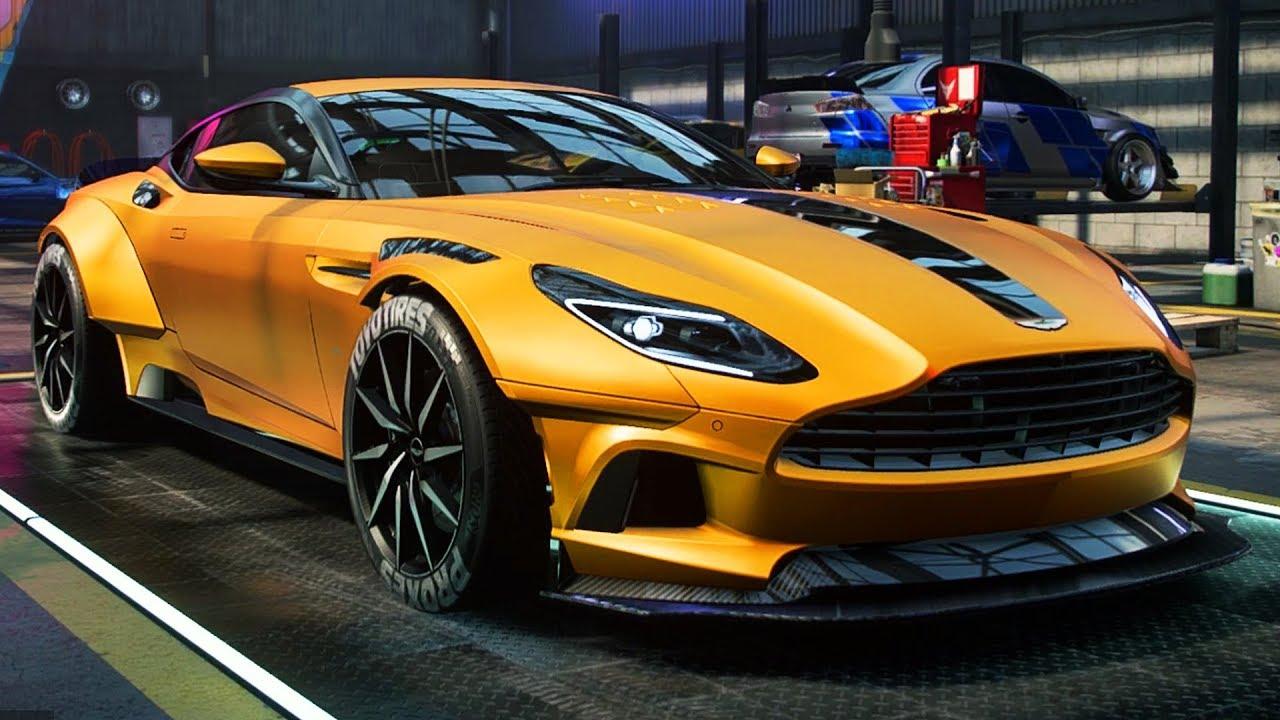1 200hp Aston Martin Db11 Build Need For Speed Heat Part 53 Youtube