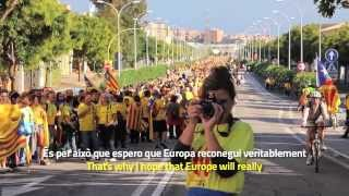 "Via Catalana: ""Catalonia should have the right to vote""  [SUBT]"