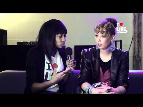 Yazmin INTERVIEW 7 NOV 2011 ILUVLIVE @ XOYO