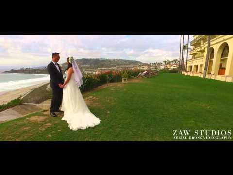 The Ritz Carlton, Laguna Niguel Wedding Drone Services 2016