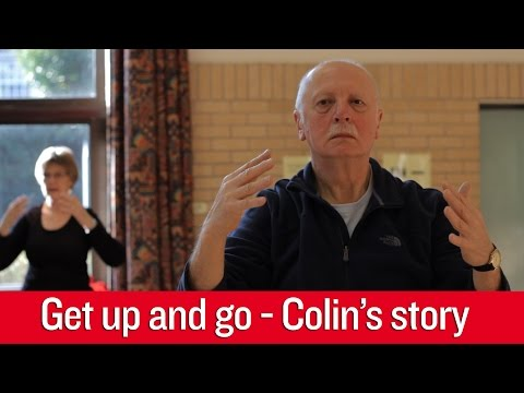 British Heart Foundation - Get up and go, Colin's story