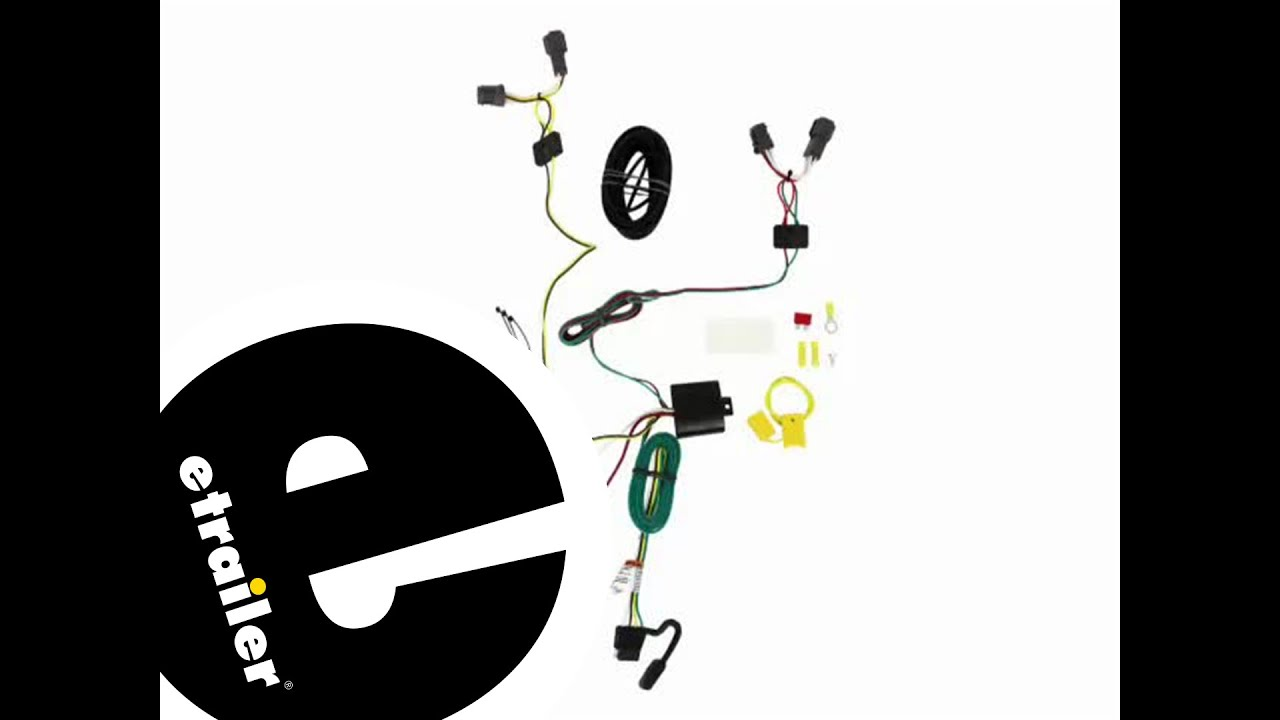 hight resolution of trailer wiring harness installation 2014 kia soul etrailer com
