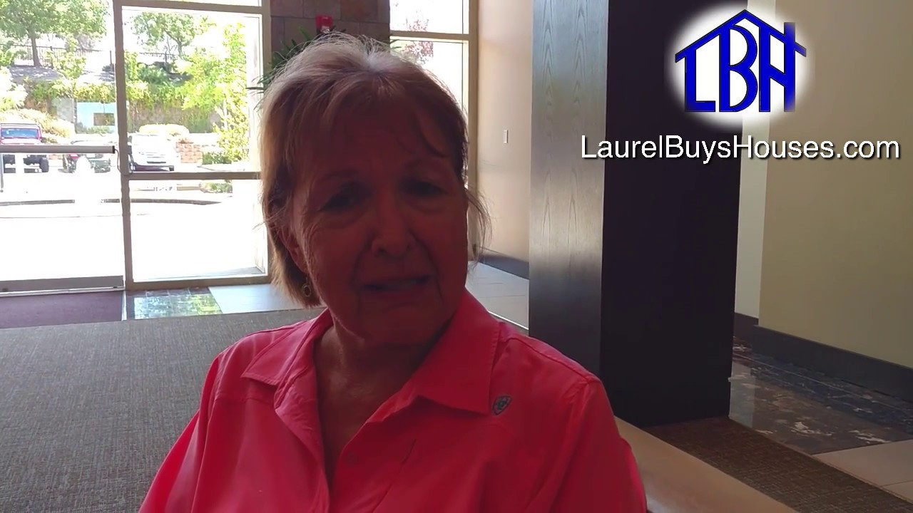 Deanne and her testimonial for Laurel Buys Houses in Sacramento
