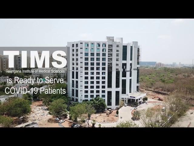 TIMS is ready to serve COVID-19 patients   #TelanganaFightsCorona   Hyderabad   Telangana