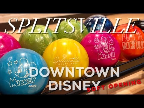 SPLITSVILLE SOFT OPENING AT DOWNTOWN DISNEY | DISNEYLAND RESORT ANAHEIM