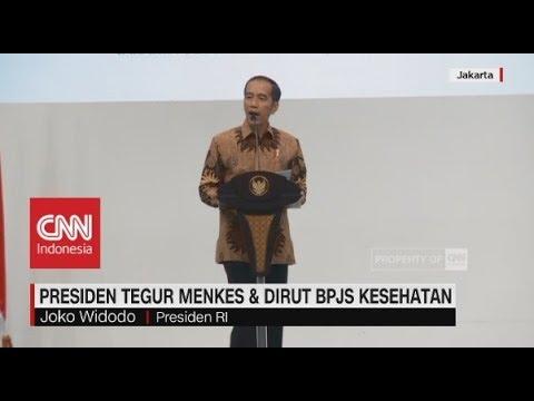 Presiden Tegur Menkes & Dirut BPJS Kesehatan