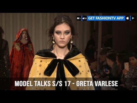 Model Talks Fall/Winter 2017-18 Greta Varlese   FashionTV