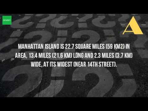 How Many Square Miles Is Manhattan?