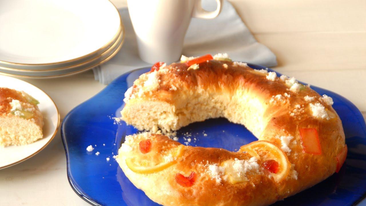 La Cocina De Auro Thermomix | Roscon De Reyes Sin Masa Madre Con Thermomix Receta Facil De