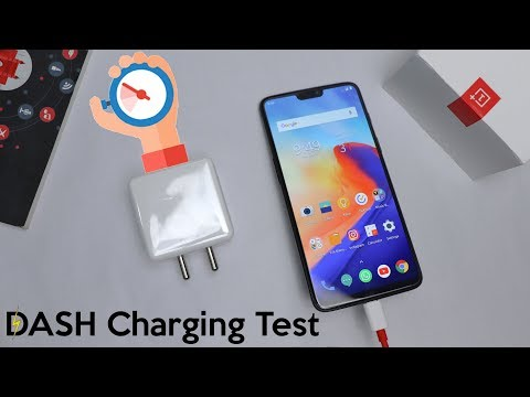 OnePlus 6 Dash Charging Test // World's Fastest Charging Technology // 0-60% In 30 Minutes